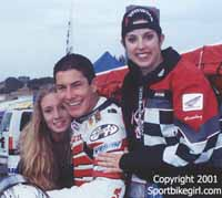 Nicky Hayden me, and my friend
